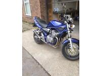 Suzuki bandit 600 low mileage !
