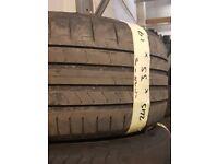 245/35/19 Pirelli like new tread