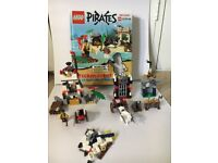 Lego pirates and castle brickmaster set/ book
