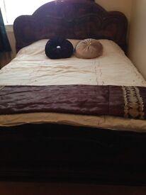 Italian bedfram and divan bed