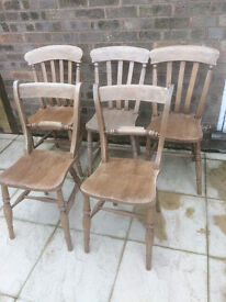 Dining/Feature Pine Chairs