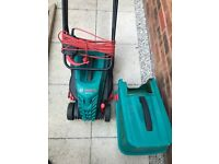 Free Bosch Rotak 34-13 Electric Lawn Mower for Spares or Repair