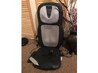 Massage chair unit