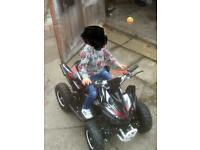 Brand new Kids Hawkmoto 50cc quad