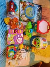 Bundle of great baby/ toddler toys