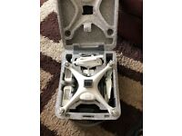 DJI PHANTOM 4 DRONE WITH 3 BATTERIES SPARE PROPS, GPS TRACKER & MORE. BARGAIN