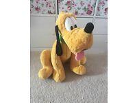 Giant Pluto soft toy