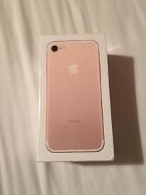 Brand new IPhone 7 Gold 32gb