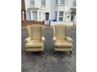 Quality Wing back chairs !!!!