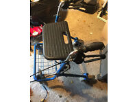 Mobility Walker With Seat And Basket