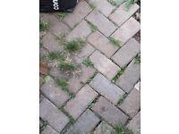 Gardening items; paving blocks/ stones and artificial turf