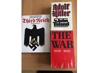 Second World War books
