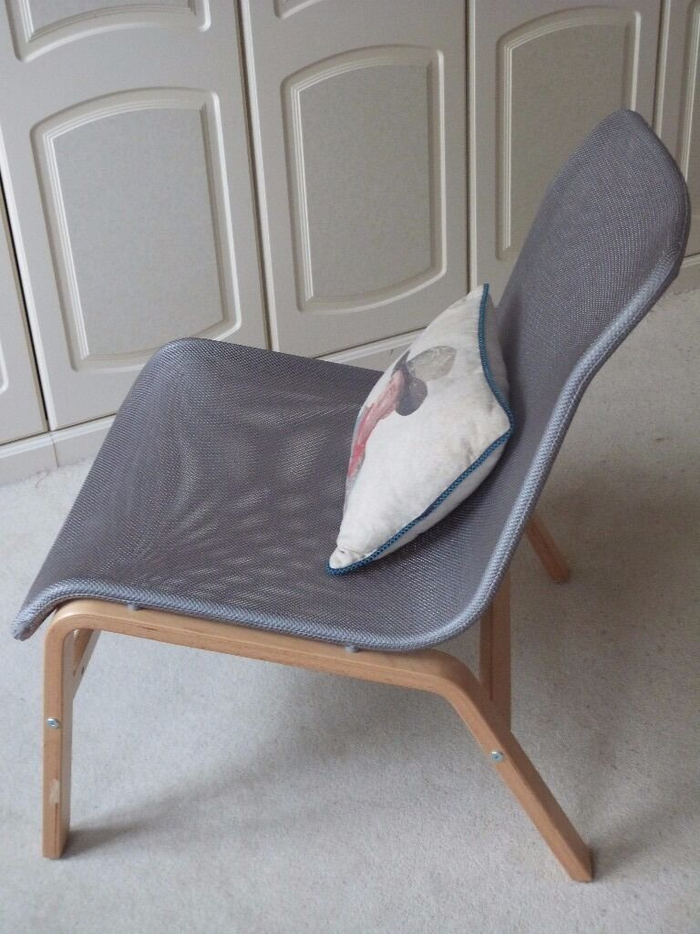Nolmyra Ikea Chair Grey Perfect Condition Stylist And