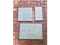 Natural Sandstone Paving - Grey/Green - Mixed Sizes - 10.56m2