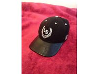 LUCKY DICE snapback black leather