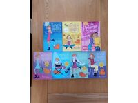 The Princess Diaries by Meg Cabot. Collection of 7 books.