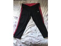 Ladies 3/4 exercise leggings