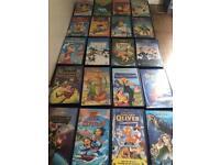 Walt Disney videos x20
