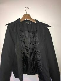 Large men's yves saint Laurent (ysl) black jacket