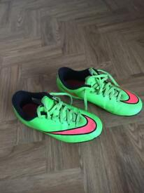Nike mercurial football boots size UK 2