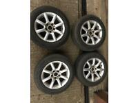 VW Michigan Alloy Wheels with tyres