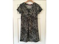 Dream Girls Collection Animal Print Tunic Top