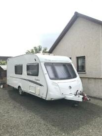 2008 SWIFT TIREE SPECIAL EDITION, 4/BERTH WITH MOTOR MOVER AND AWNING