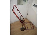 Vintage Metal Sack Trolley / Truck
