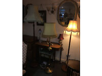Great Selection of Elegant & Stylish Vintage Floor Lamps – From £40