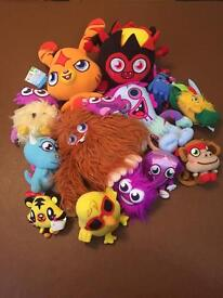 Moshi Monsters bundle of plush and talking
