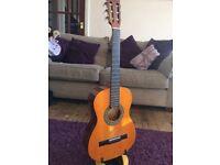 Acoustic guitar 19 fret