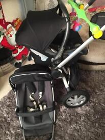 Quinny buzz pushchair & car seat & more lovely condition