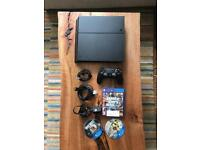 PS4 1TB, 1 Controller, All Wires and 3 Games *Great Condition*