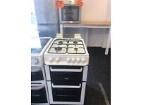 ZANUSSI 50CM ALL GAS COOKER WITH LID