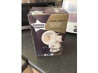 Tommee tippee manual breast pump bnib