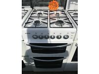 STOVES 50CM ALL GAS COOKER IM WHITE WITH LOD