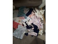 Baby girls clothes bundle 0 to 3 months. Some items still with tags. Bargain!!!
