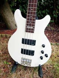 GRECO TV-SE Active Bass- 2002 Made in Japan 'Ice Pearl Metallic'