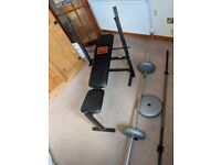 Weights Bench and Weights £40 o.n.o