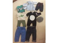 BUNDLE OF BABY BOY CLOTHES 6 - 9 MONTHS