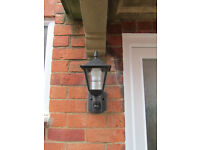 Lantern style outsight light
