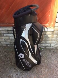Motocaddy golf bag. Little used. Very good condition.
