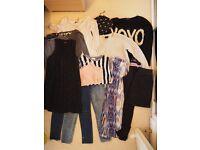 Women's clothes bundle. Size 8. Brands include: Zara, Topshop, Jack Wills, Levi & more.