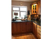 Solid wood door kitchen, free for collection.