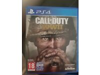 For sale Call of Duty WWII Ps4