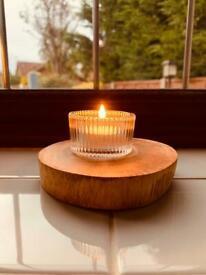 Oak tea light