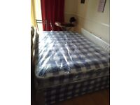 New double divan bed complete