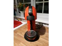 Red Nescafe Dolce Gusto Krups Coffee Machine