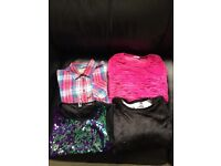 Bundle girls clothes aged 9-10 years
