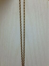 "9ct gold chain 20"" long 8 grams in weight"